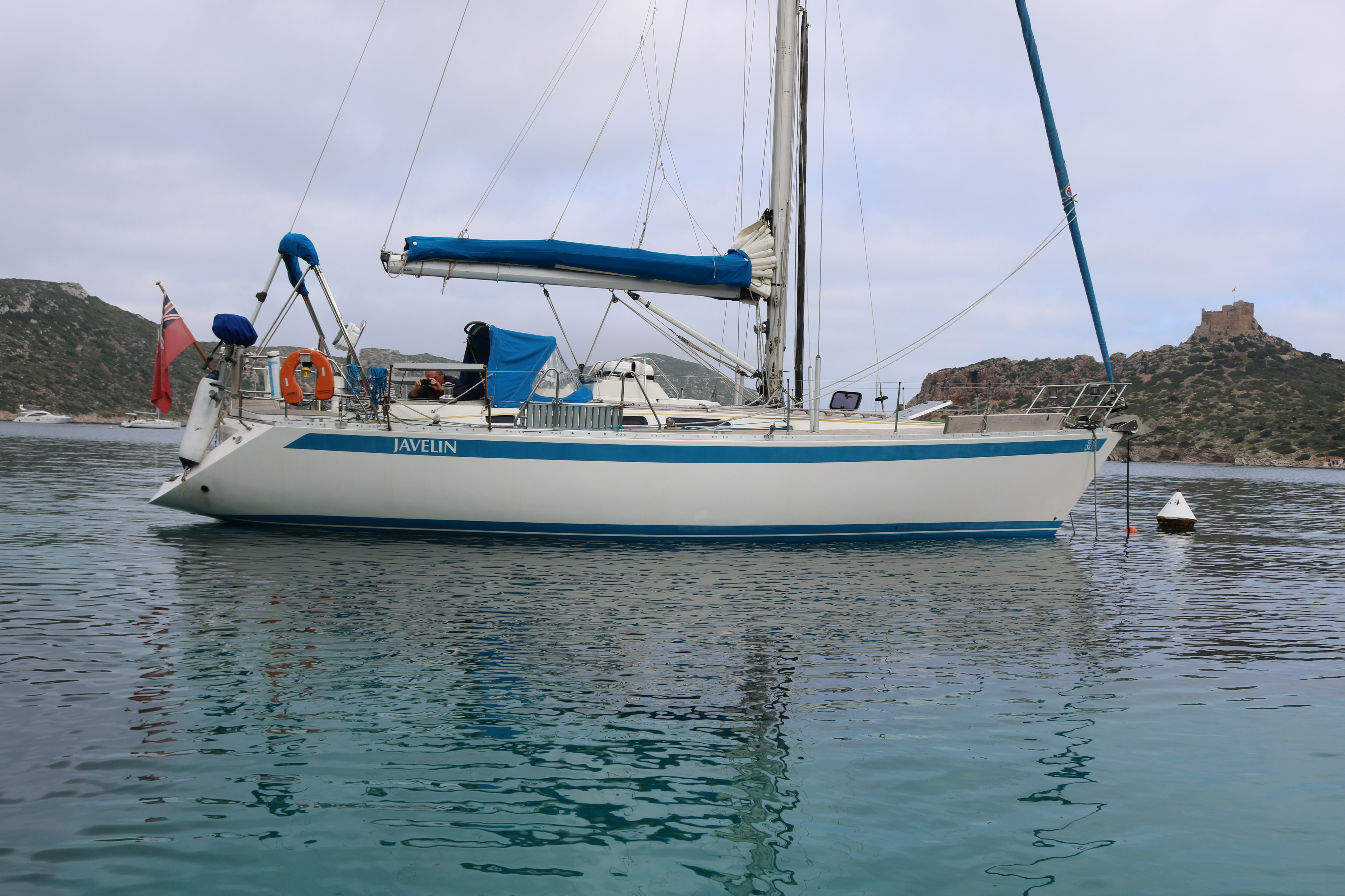 Opportunity to sail in the Mediterranean on a beautiful 39 foot Sweden yacht