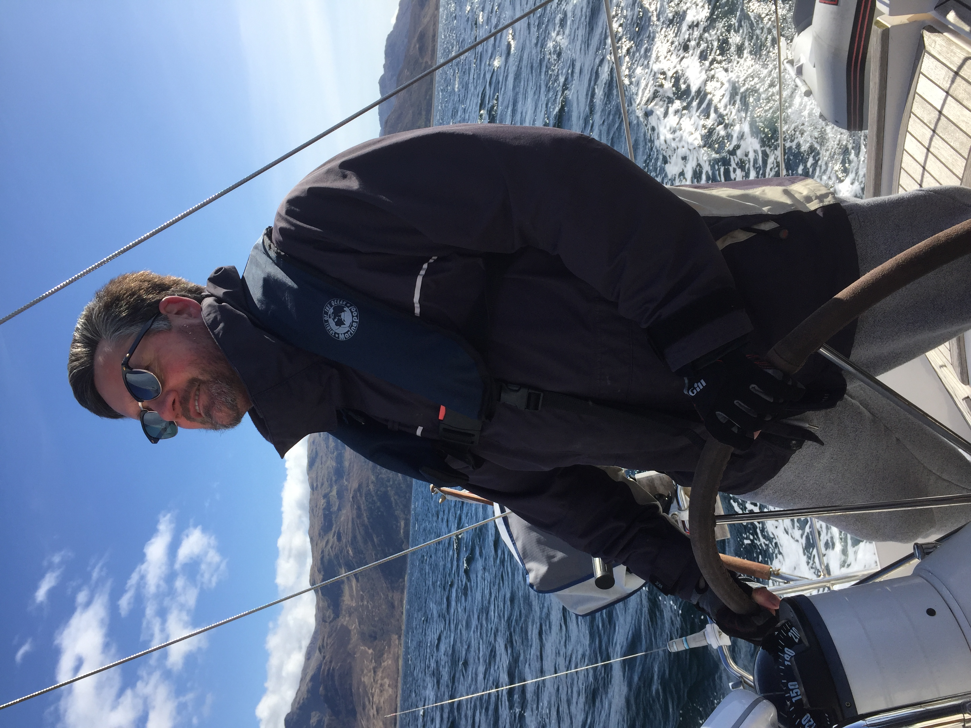 Sailing west coast of Scotland 2020